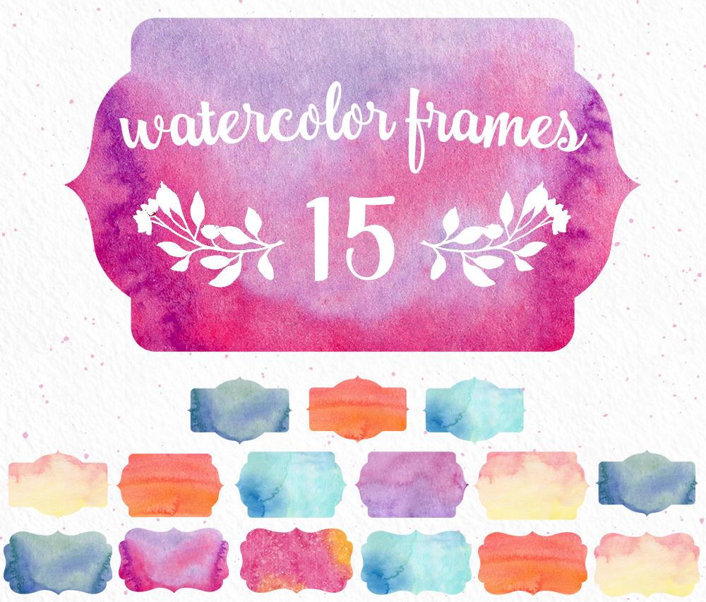 WatercolorFramesCover